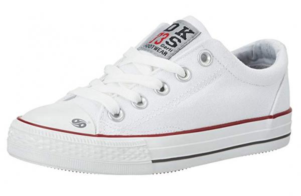 Dockers Kinder Sneaker Low 38AY613-710 (Weiß 500)