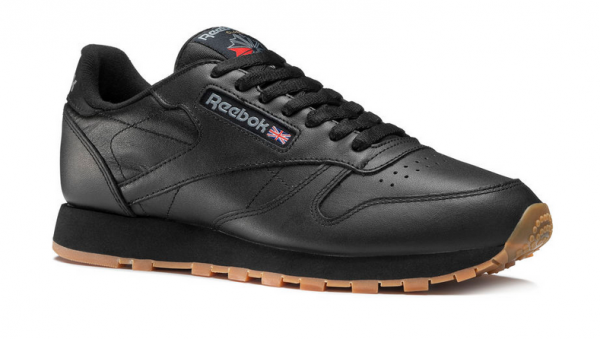Reebok Classic Leather Herren Sneaker 49800 (Schwarz)