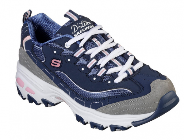 Skechers D'Lites New Journey Damen Sneaker (Blau-NVGW)