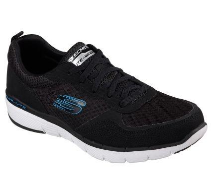 Skechers Flex Advantage 3.0 Herren Sneaker 52954 (Schwarz-BLK)