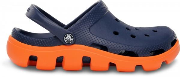 Crocs Duet Sport Clog (Navy/Orange)