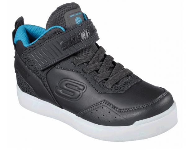 Skechers S Lights: Energy Lights – Merrox Kinder Sneaker (Grau-CCBL)