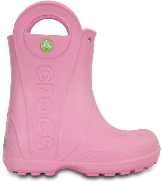 Crocs Kids Handle it Rain Boot (Carnation)