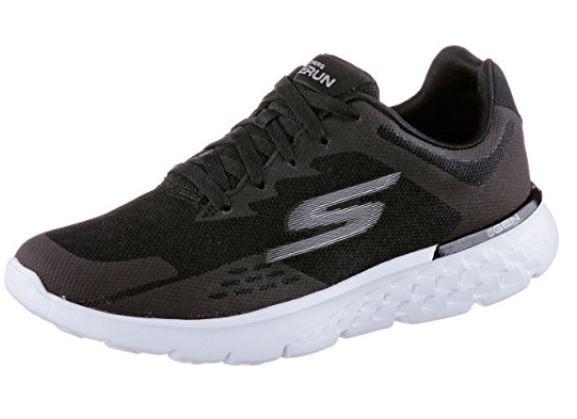 Skechers Go Run 400 Damen Sneaker (Schwarz-BKW)