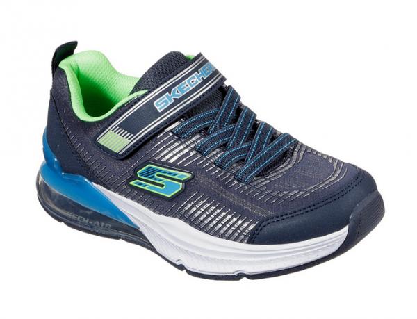 Skechers Skech-Air Blast - Tallix Kinder Sneaker 97743L (Blau-NVBL)