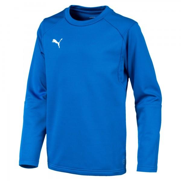 Puma LIGA Training Sweat Jr Kinder Shirt 655670 (Blau 02)