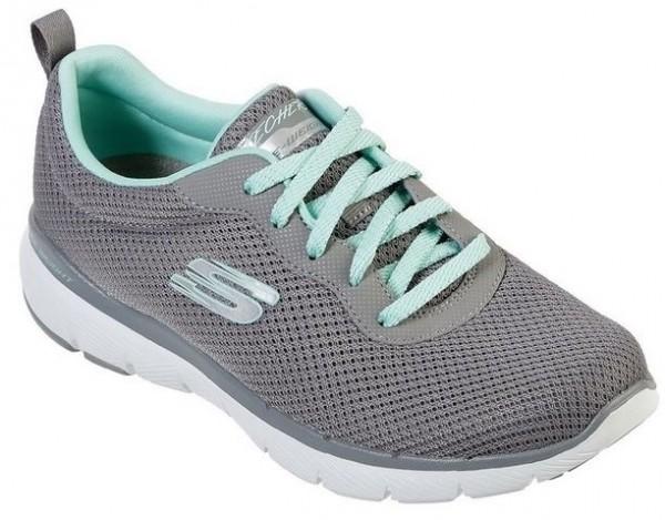 Skechers Flex Appeal 3.0 – First Insight Damen Sneaker 13070 (Grau-GYMN)