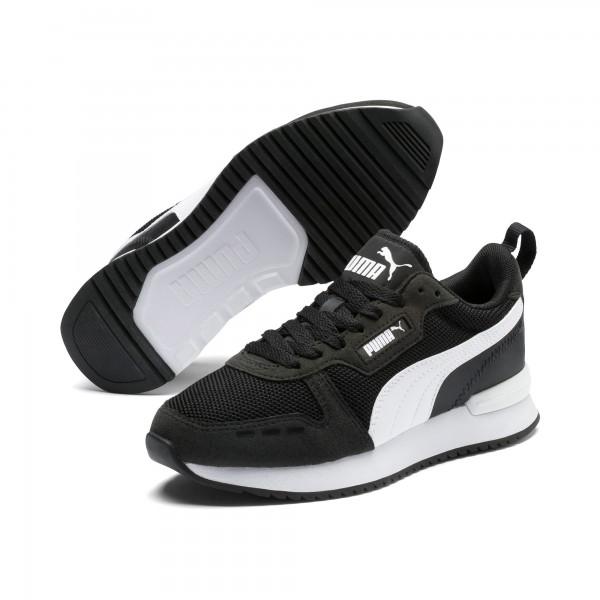 Puma R78 Jr Kinder Sneaker 373616 (Schwarz 01)