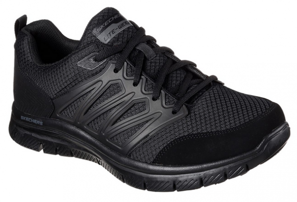 Skechers Flex Advantage - Sheaks Herren Sneaker 58353 (Schwarz-BBK)