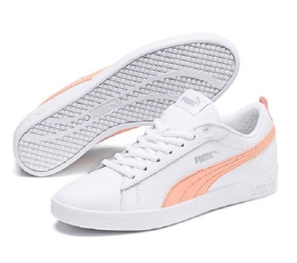 Puma Smash Wns V2 L Damen Sneaker 365208(Weiß 14)