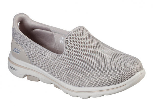 Skechers GoWalk5 Damen Sneaker 15901 (Beige-TPE)