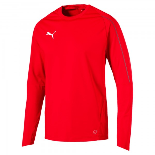 Puma FINAL Training Herren Sweatshirt 655290 (Rot 01)