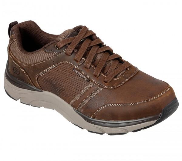 Skechers Relaxed Fit: Sentinal - Lunder Herren Sneaker 66293 (Braun-CDB)