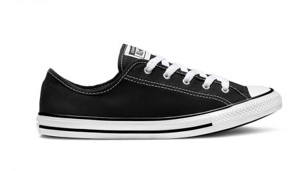 Converse Chuck Taylor All Star Dainty Ox Damen Sneaker 564982C (Schwarz)