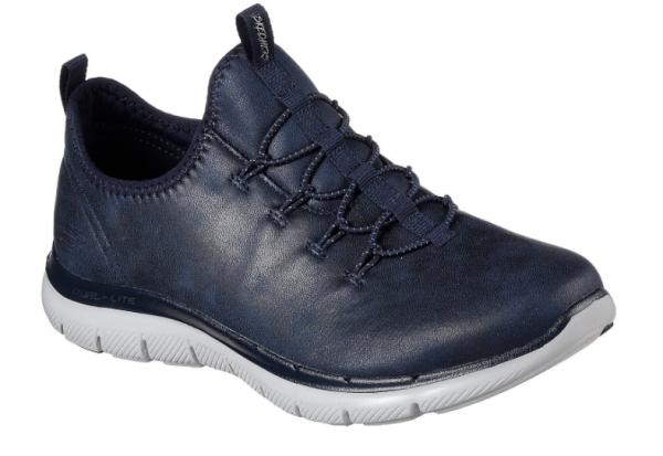 Skechers Flex Appeal 2.0 Top Story Damen Sneaker 12624 (Blau-NVY)