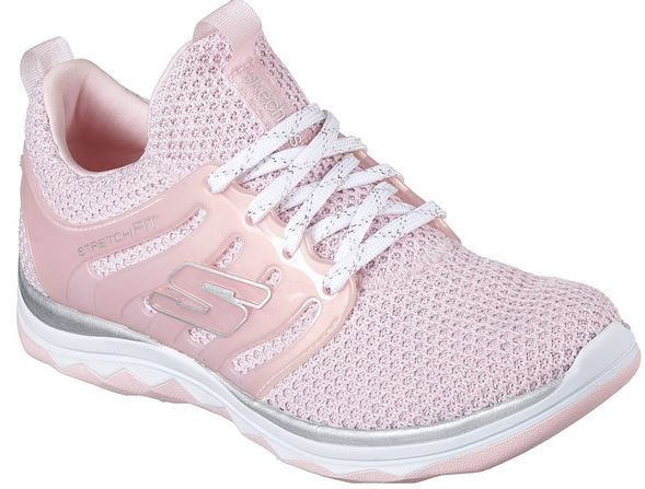 Skechers Diamond Runner - Sparkle Sprints Kinder Sneaker 81561L (Pink - LTPK)