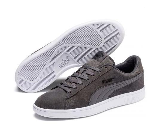 Puma Smash v2 Herren Sneaker 364989 (Grau 32)
