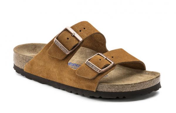Birkenstock Arizona VL SFB Sandale schmal 1009527 (Braun)