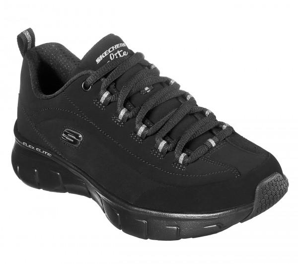 Skechers Synergy 3.0 - Out & About Damen Sneaker 13261 (Schwarz-BBK)