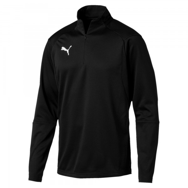 Puma LIGA Training 1/4 Zip Herren Shirt 655606 (Schwarz 03)