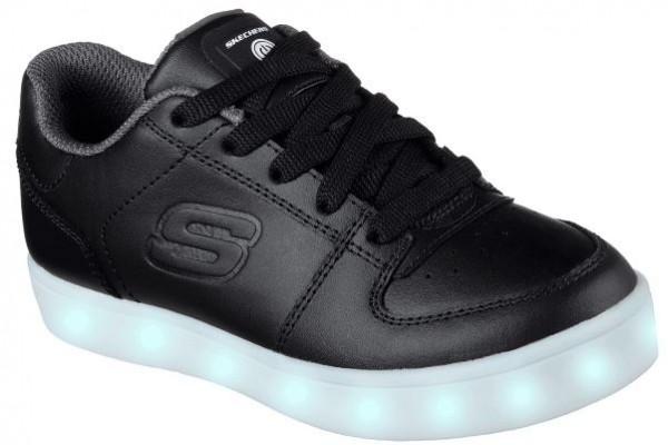 Skechers S Lights: Energy Lights -Elate Kinder Sneaker 90601L (Schwarz - BLK)