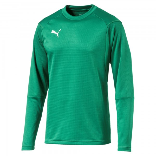 Puma LIGA Training Sweat Herren Shirt 655669 (Grün 05)