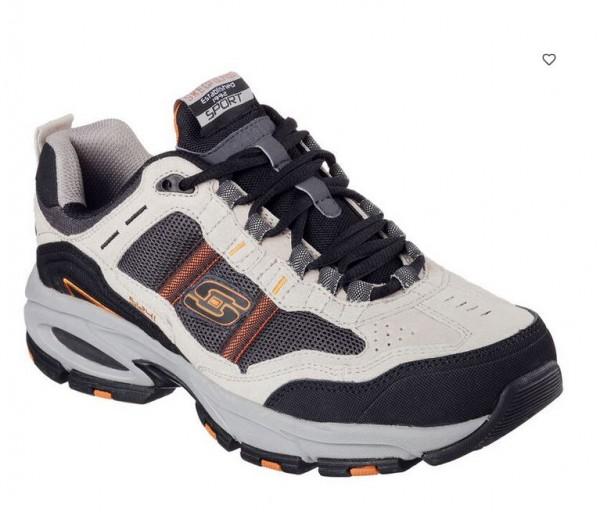 Skechers Vigor 2.0 - Trait Herren Sneaker 51241 (Beige-TPBK)
