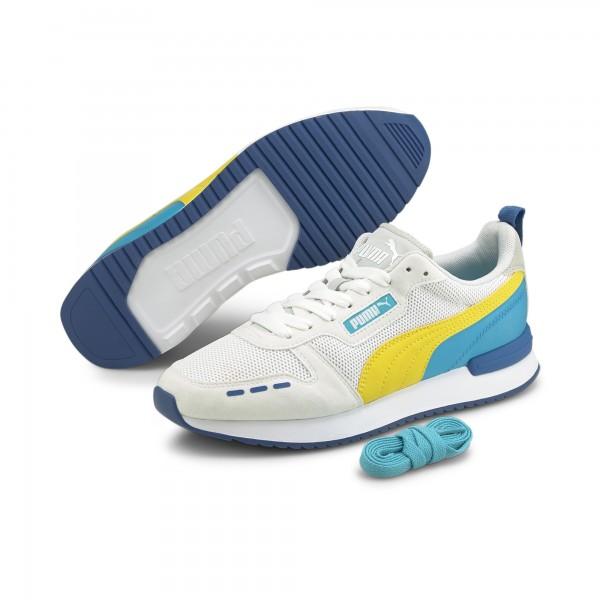 Puma R78 Runner Herren Sneaker 373117 (Weiß 27)