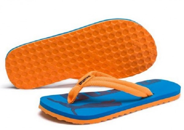 Puma Epic Flip v2 Junior Zehentrenner 360288 (Orange/Blau 16)
