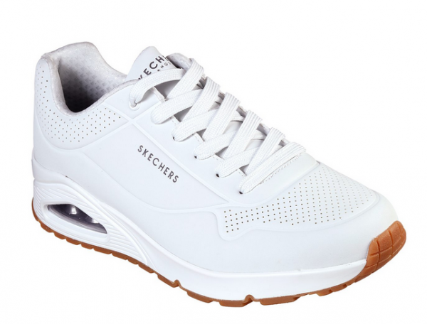 Skechers UNO-Stand On Air Herren Sneaker (Weiß-WHT)