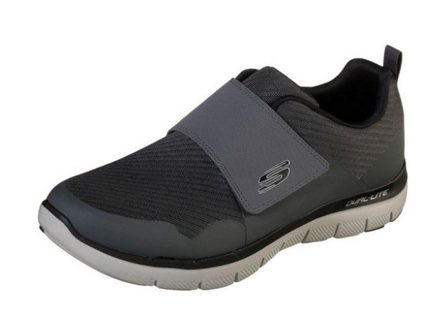 Skechers FLEX ADVANTAGE 2.0 GURN Herren Sneaker (Grau-CCBK)