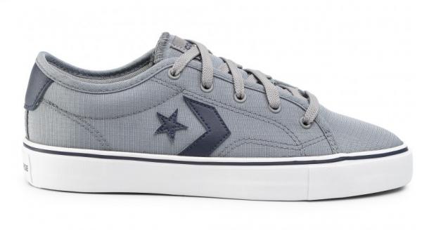 Converse Star Replay Ox Herren Sneaker 167525C (Grau)