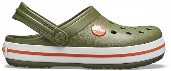 Crocs Crocband Kinder (Army Green/Burnt Sienna)