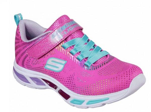 Skechers S Lights Litebeams - Gleam N'Dream Kinder Sneaker 10959L (Rosa-NPMT)