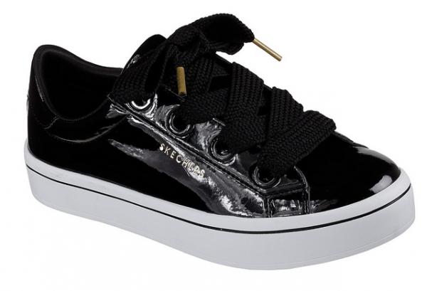 Skechers Hi-Lites - Slick Shoes Damen Sneaker 959 (Schwarz-BLK)