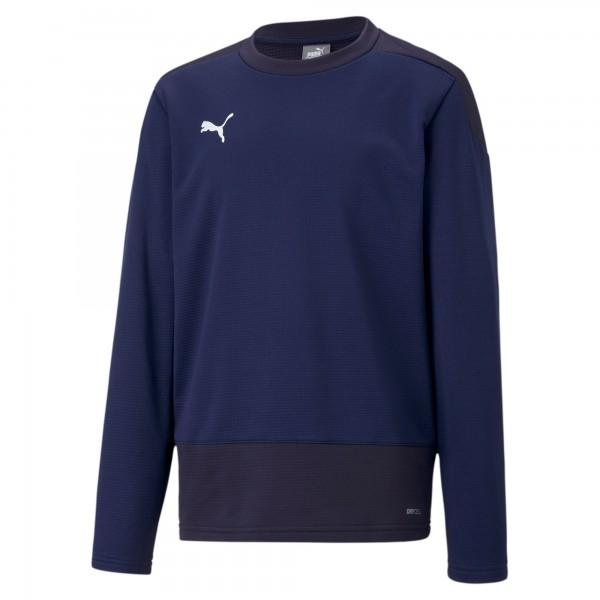 Puma TeamGOAL 23 Training Jr Kinder Sweatshirt 656568 (Blau 06)
