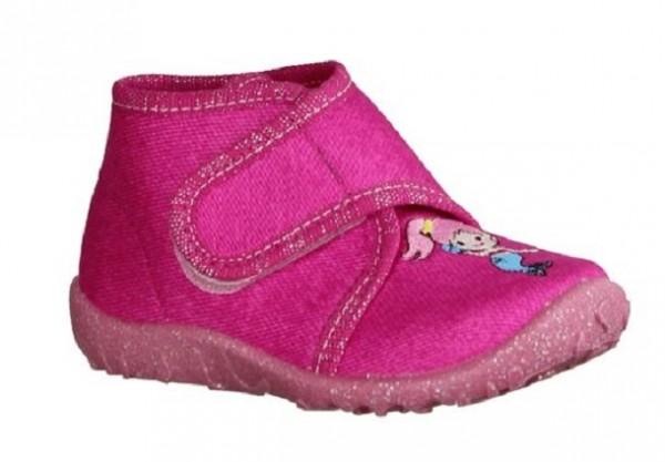 Superfit Spotty Mädchen Hausschuhe 6-09253 (Pink 55)