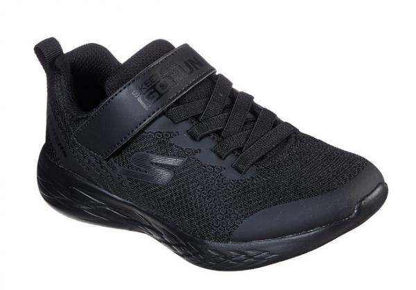 Skechers GoRun 600 - Baxtux Kinder Sneaker 97858L (Schwarz-BBK)