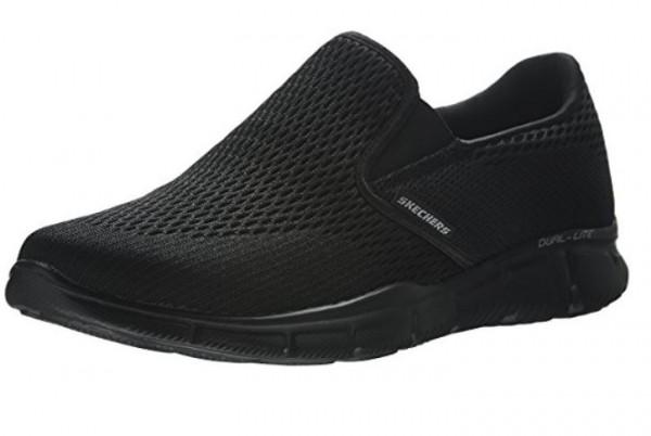 Skechers Equalizer Double Play Herren Sneaker 51509 (Schwarz-BBK)