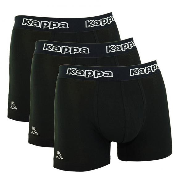 Kappa Tsuna Herren Boxershorts 6er Pack (Schwarz)