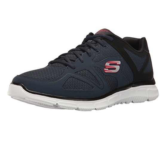 Skechers Satisfaction - Flash Point Herren Sneaker 58350 (Blau-NVBK)