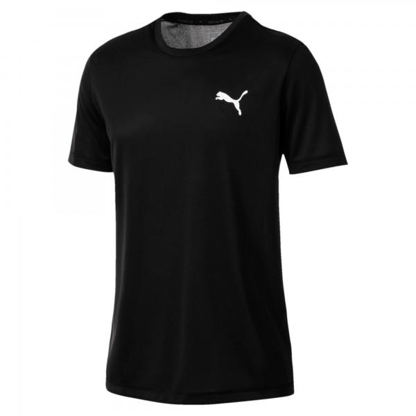 Puma Active Tee Herren T-Shirt (Schwarz 01)