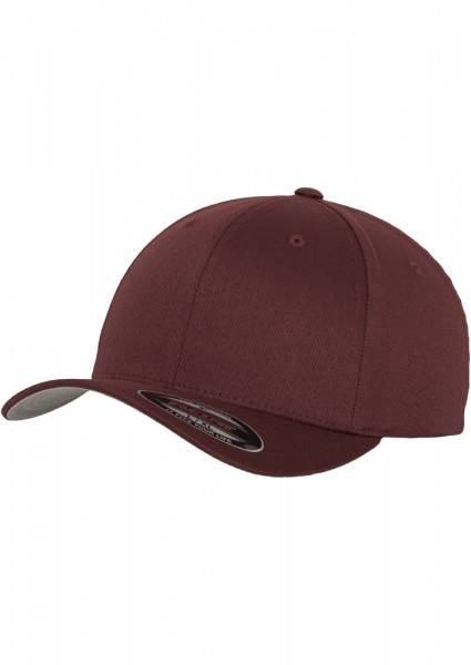 Flexfit Wooly Combed Baseball Cap (Maroon-00150)