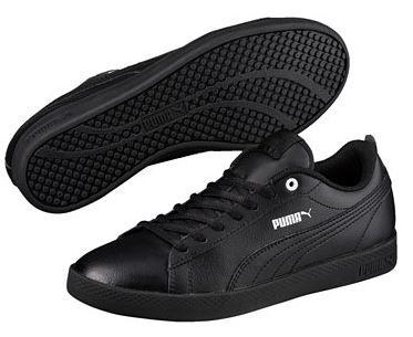 Puma Smash Wns V2 L Damen Sneaker 365208 (Black 03)