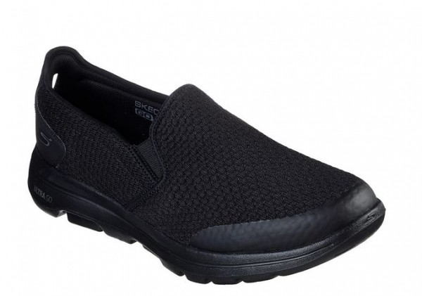 Skechers GoWalk5 - Apprize Herren Sneaker 55510 (Schwarz-BBK)