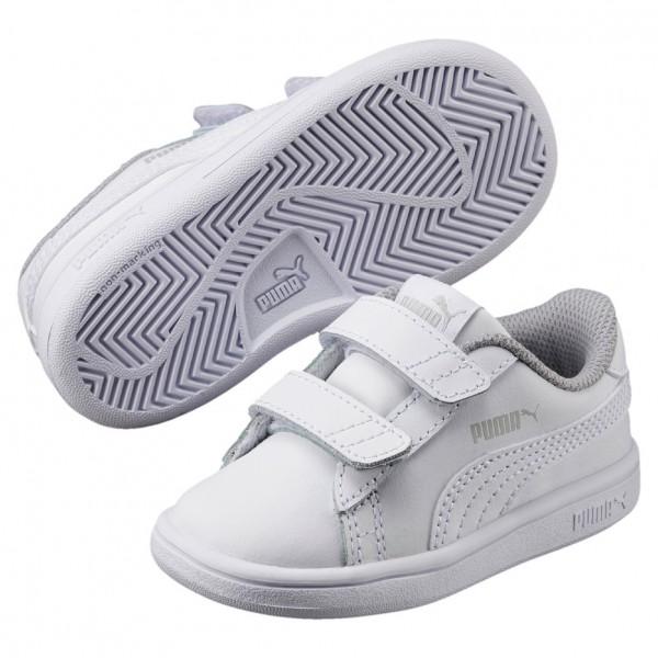 Puma Smash V2 L Kids Kinder Sneaker 365173 (white 02)