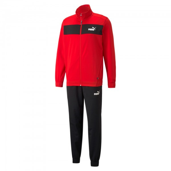 Puma Poly Suit CL / Herren Jogginganzug 845844 (Rot 11)