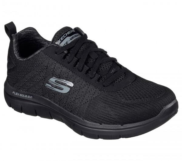 Skechers Flex Advantage 2.0 - The Happs Herren Sneaker 52185 (schwarz-BBK)