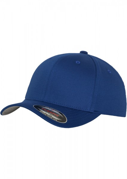 Flexfit Wooly Combed Baseball Cap (Royal-00205)