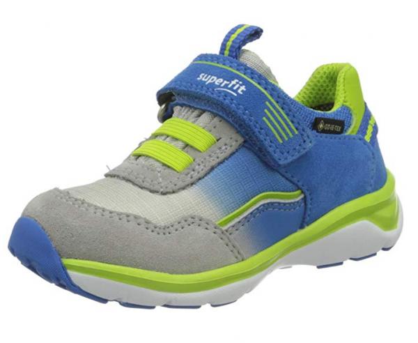 Superfit Sport5 Kinder Sneaker 6-09241 (Blau/Grün 81)